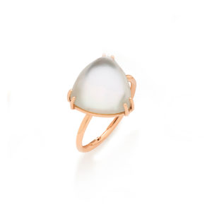 anello riflessi in oro con madreperla